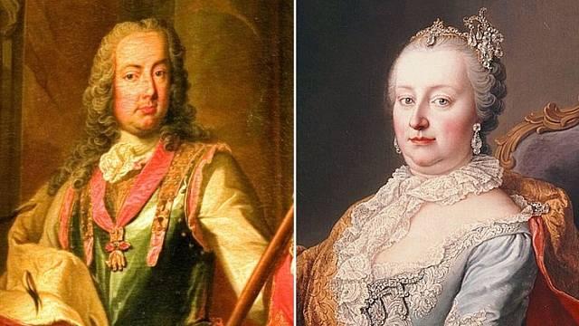 Marie Terezie manžela Františka Štěpána upřímně milovala.