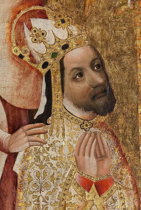 Karlu IV. zbyly po otci velké dluhy.