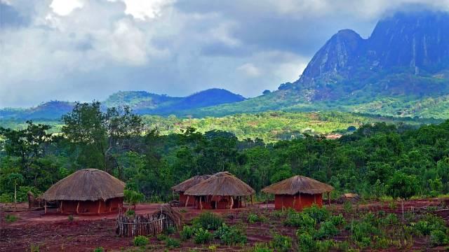 Kouzelný ostrov Mosambik