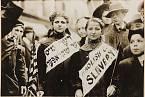 Protest proti dětské práci v New Yorku (1909)
