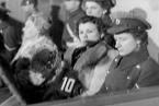 První soud s dozorci koncentračního tábora Ravensbrück, 5. prosince 1946.