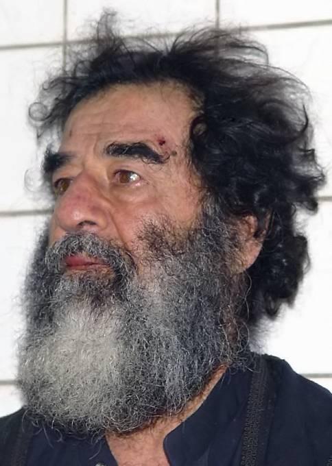 Saddám Husajn byl zajat na sklonku roku 2003.