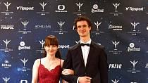 Adam Ondra s přítelkyní Ivou