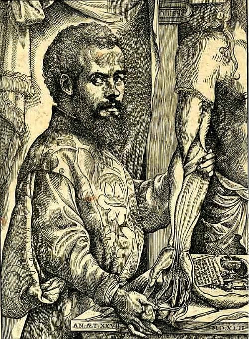 Lékař Andreas Vesalius Karlovi úspěšně operoval lebku po úrazu.