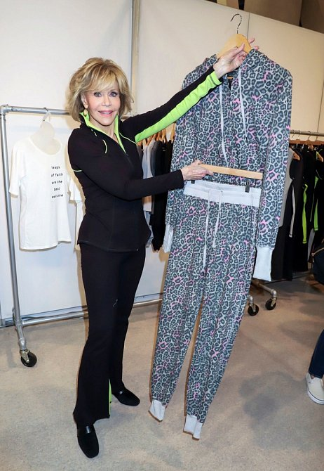 Jane Fonda navrhla kolekci sportovního oblečení.