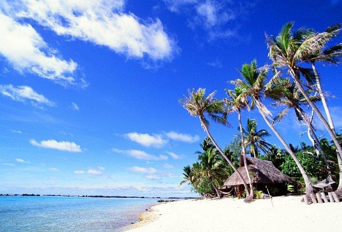 Marlon Brando si koupil vlastní ostrov.