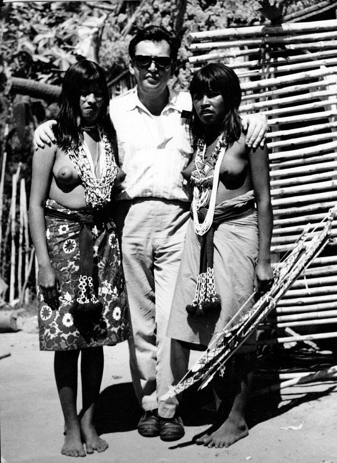 Tehdejší indiánky zkmene Macá zGran Chaca, 1969.