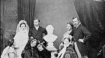 Královna Viktorie se svou rodinou