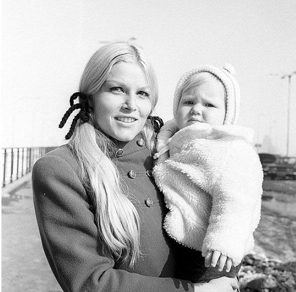 Olga Schoberová s dcerou Sabrinou