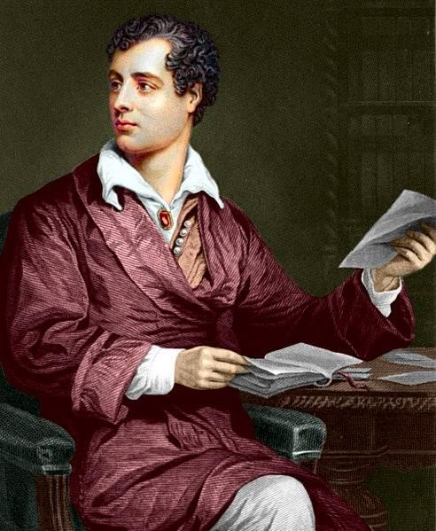 Anglický básník George Gordon Byron byl typem zasněného umělce, ideálu romantismu.