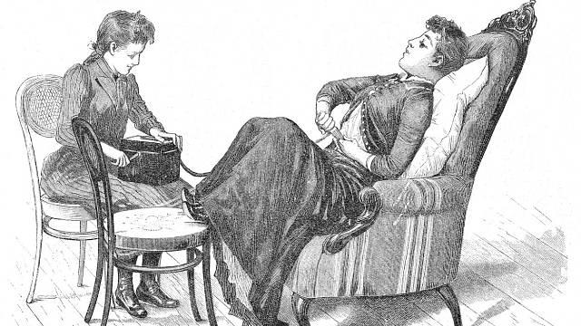 Hysterie byla považována za projev sexuální frustrace ještě v novověku.