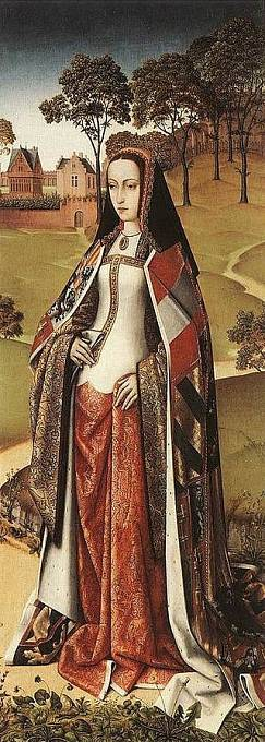 Johana Šílená okolo roku 1500