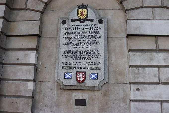 Památník Williama Wallace v Londýně