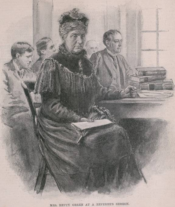 Hetty Green zbohatla na burze. Do konce života ale zůstala chorobně šetrná a lakomá.