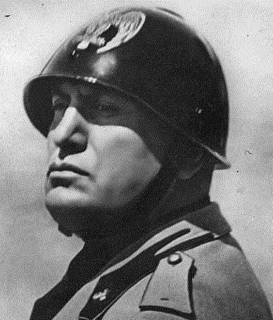 Portrét Benita Mussoliniho