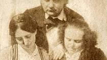 Adèle Hugo s rodiči