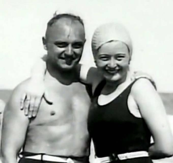 Ilse Koch s manželem Karl Otto Kochem.