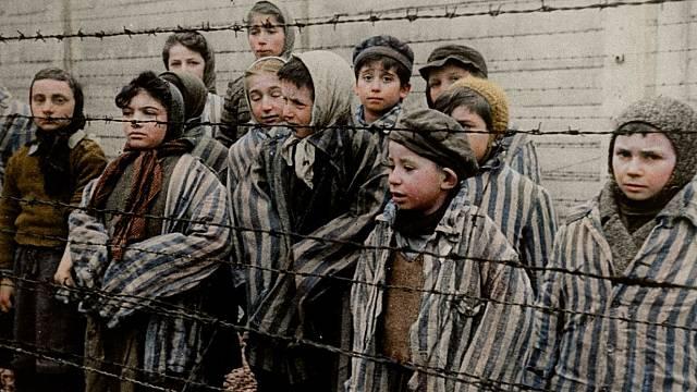 Děti v Osvětimi