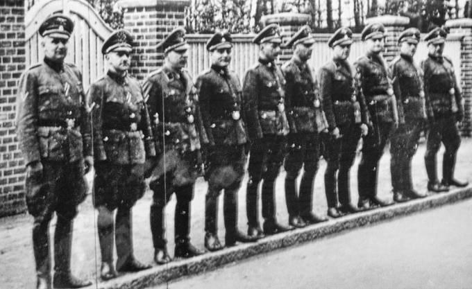 Dozorci z koncentračního tábora Stutthof