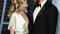 Miley Cyrus s bývalým manželem
