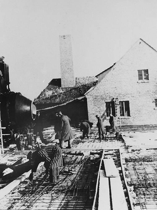 Práce v koncentračním táboře