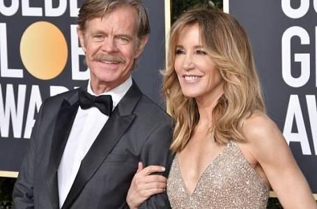 Felicity Huffman s manželem