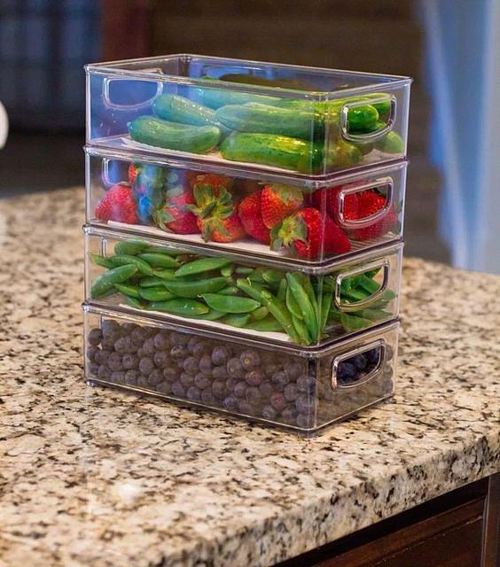 Krabičky na jídlo vyřeší problém s nedostatkem místa.