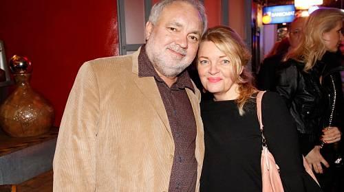 Václav Svoboda s manželkou