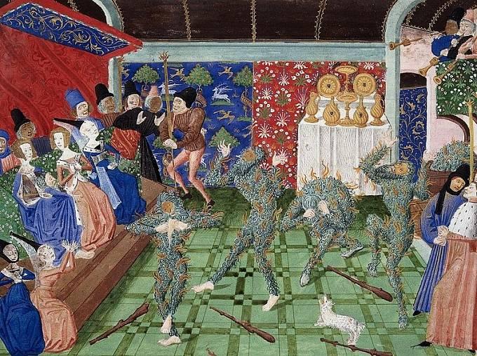 """Při """"bálu světlušek"""" nešťastnou náhodou uhořeli čtyři královi druzi."""