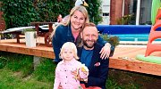 Miloš Knor s rodinou
