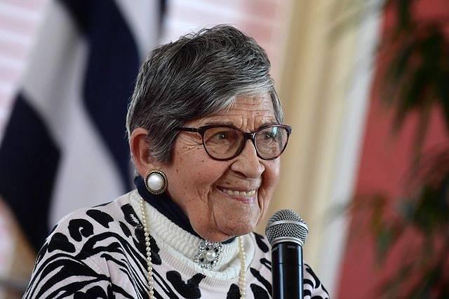 Ginette Kolinka strávila několik měsíců v Osvětimi.