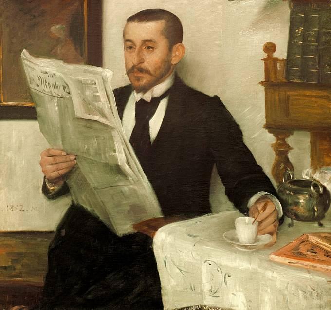 Až do poloviny 19. století podávali seznamovací inzeráty jen muži.