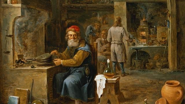 Lékařství mívalo blízko k alchymii.