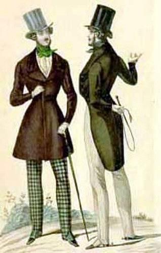 Takzvaní dandyové byli považováni za povaleče posedlé vlastním vzhledem.