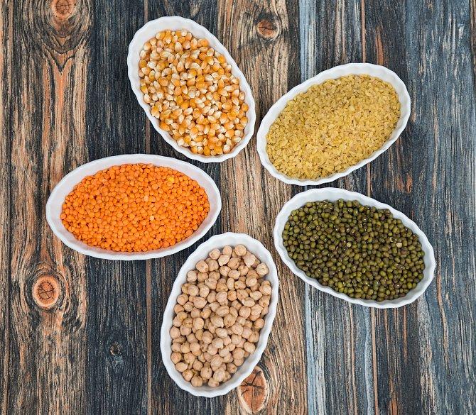 Vitamín B5 obsahují luštěniny