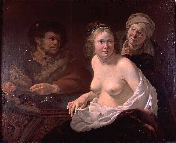 Kuplířka (1636-1638), autor: Jan Gerritsz van Bronckhorst