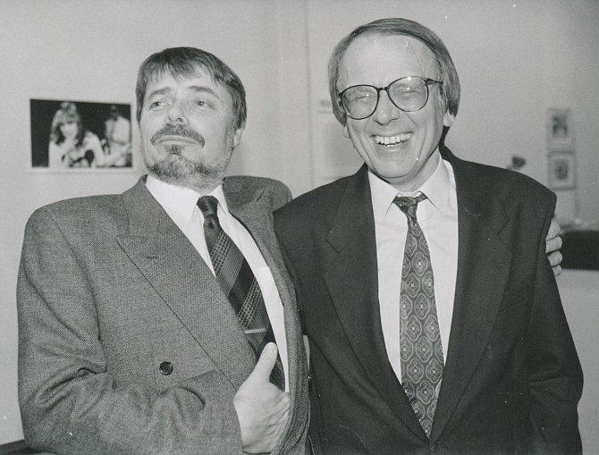 Miloslav Šimek a Radim Uzel