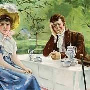 Romantické lásce předcházelo vyjednávání o financích.