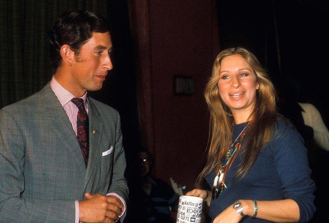 Barbra Streisand svedla i prince Charlese, Diana ji nenáviděla.
