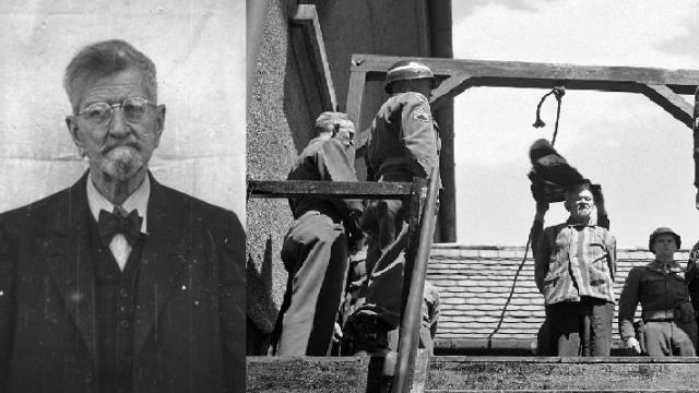 Profesor Claus Karl Schilling byl za své pokusy s malárií odsouzen k trestu smrti. Rozsudek byl vykonán 28. května 1946 ve věznici Landsberg.