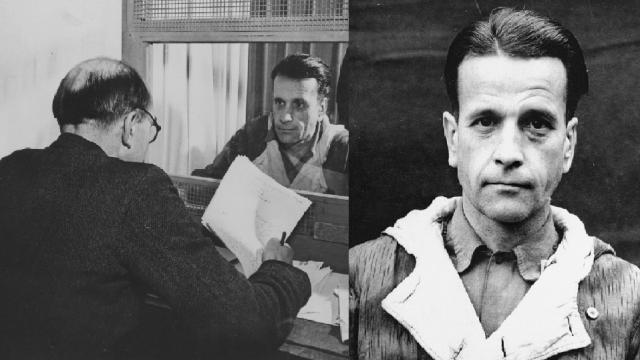 Dr. Waldemar Hoven, nacista a táborový lékař z koncentračního tábora Buchenwald.