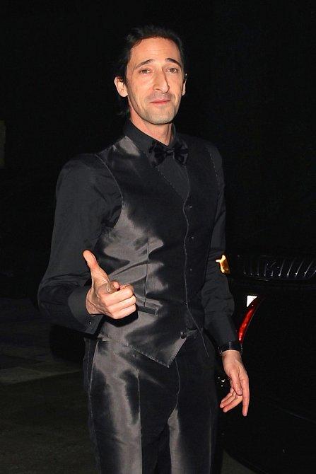 Adrien Brody, v devětadvaceti letech dodnes nejmladší držitel sošky Oscara