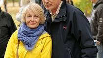 Veronika Žilková s manželem