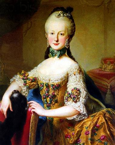Marie Alžběta bývala krásná a marnivá, ale neštovice jí zhyzdily obličej.