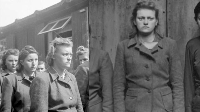 Irene Haschke – nacistická dozorkyně z koncentračního tábora Bergen-Belsen.