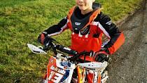 Syn Kubíček chce být jako tatínek motorkář