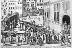 Mniši upálení za sodomii v rakouském Gentu, 1578