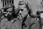 Herta Bothe po zadržení spojenci.