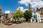 Městečko Eppstein u Frankfurtu