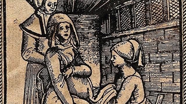 Komlikované porody v 18. století